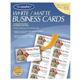 Geographics Royal Brites Business Card (Set of 100)