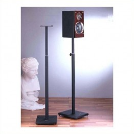 VTI BLE101 Surround Sound Adjustable Speaker Stand-Silver