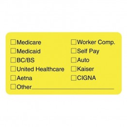 Tabbies Medical Office Insurance Label (Set of 250)