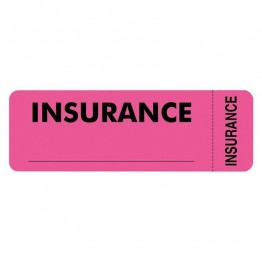 Tabbies Insurance Label (Set of 250)