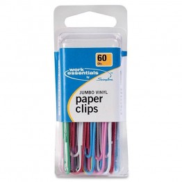 Swingline Jumbo Paper Clips (Set of 60)
