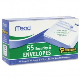 Mead Security Envelopes (Set of 55)
