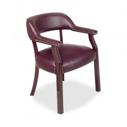 Lorell Traditional Captain Side Chair
