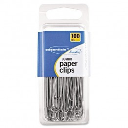 Swingline Jumbo Paper Clips (Set of 100)