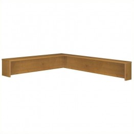 Bush Business Furniture Series C Reception L-Shelf in Natural Cherry