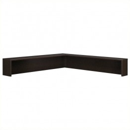 Bush Business Furniture Series C Reception L-Shelf in Mocha Cherry