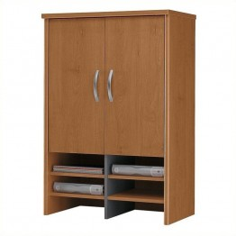 Bush Business Furniture Series C 30W Hutch in Natural Cherry
