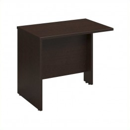 Bush Business Furniture Series C 36W Return Bridge in Mocha Cherry