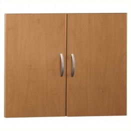 Bush Business Furniture Series C 2 Door Kit in Natural Cherry