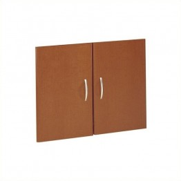 Bush Business Furniture Series C 2 Door Kit in Auburn Maple