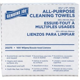 Genuine Joe All-Purpose Cleaning Towel (Set of 100)