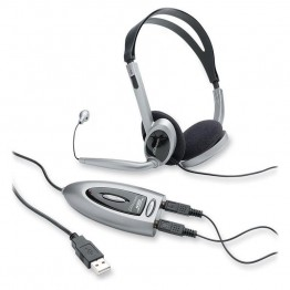 Compucessory CCS 55257 Multimedia USB Stereo Headset