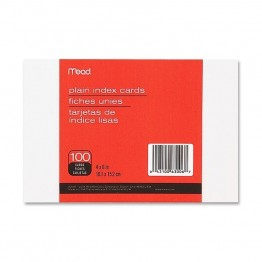Mead Plain Index Card (Set of 100)