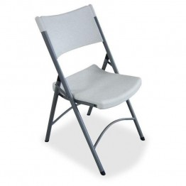 Lorell Heavy-duty Tubular Folding Chair (Set of 4)