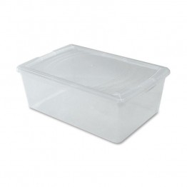 Iris Snap-tight Clear Modular Container