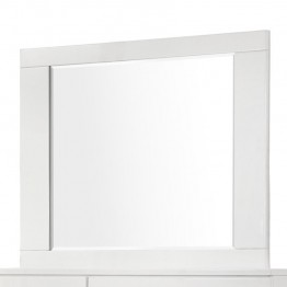 Coaster Felicity Modern Mirror in High Gloss White