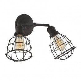 Savoy House Scout 2 Light Adjustable Sconce in English Bronze
