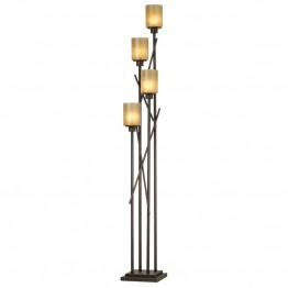Kathy Ireland by Pacific Coast City Crossings 4 Light Floor Lamp