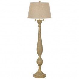 Kathy Ireland by Pacific Coast Grand Maison Floor Lamp in Woodland