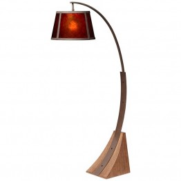 Pacific Coast Lighting Arc Floor Lamp in Dark Rust