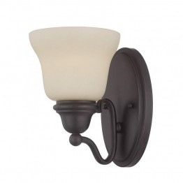 Savoy House Yates 1 Light Sconce in English Bronze
