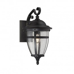 Savoy House Dillon Wall Lantern in English Bronze with Gold