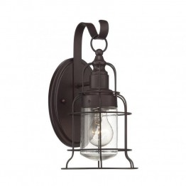 Savoy House Scout Small Wall Lantern in English Bronze