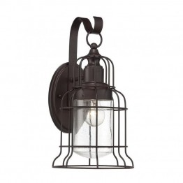 Savoy House Scout Large Wall Lantern in English Bronze