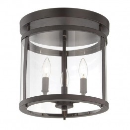 Savoy House Penrose 3 Light Semi-Flush in English Bronze