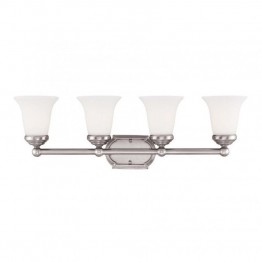 Savoy House Brannon 2 Light Bath Bar in Pewter