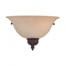 Savoy House 1 Light Sconce in English Bronze