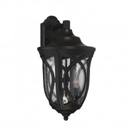 Savoy House Highgate 3 Light Outdoor Lantern in Black