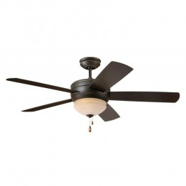 "Emerson Summerhaven 52"""" Indoor Outdoor Ceiling Fan in Golden Espresso"