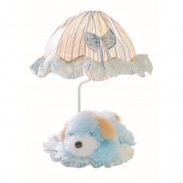 Lite Source Puppy Table Lamp in Blue