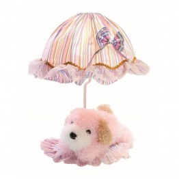 Lite Source Puppy Table Lamp in Pink