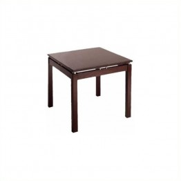 Winsome Linea Wood End Table in Espresso
