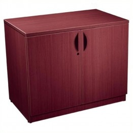 Offices to Go Storage Cabinet with Lock-American Cherry