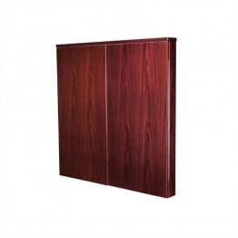 "Offices to Go 48"""" Presentation Board-American Mahogany"