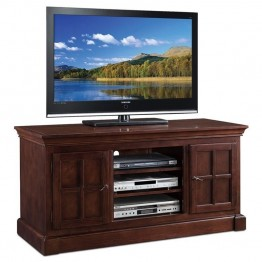 "Leick Bella Maison 52"""" TV Stand in Chocolate Cherry"
