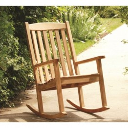 Three Birds Casual Brittany Patio Rocking Chair in Teak