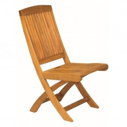 Three Birds Casual Braxton Patio Dining Chair in Teak (Set of 2)