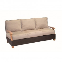 Three Birds Casual Ciera Patio Sofa in Coffee