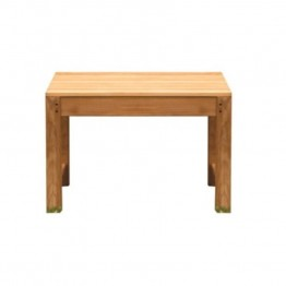 Three Birds Casual Charleston 2' Patio Backless Bench in Teak