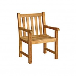 Three Birds Casual Classic Patio Arm Chair in Teak