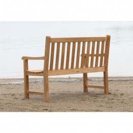 Three Birds Casual Classic Patio 4' Bench in Teak