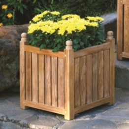 "Three Birds Casual 16"""" x 16"""" Planter Box in Teak"