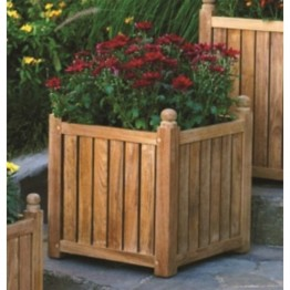 "Three Birds Casual 18"""" x 18"""" Planter Box in Teak"