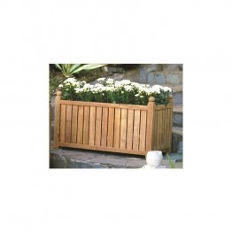 "Three Birds Casual 18"""" x 36"""" Planter Box in Teak"