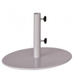 "Three Birds Casual 18"""" Round Umbrella Base in White"