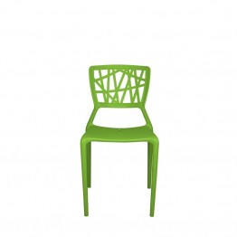 Source Outdoor Phoenix Patio Side Chair in Green